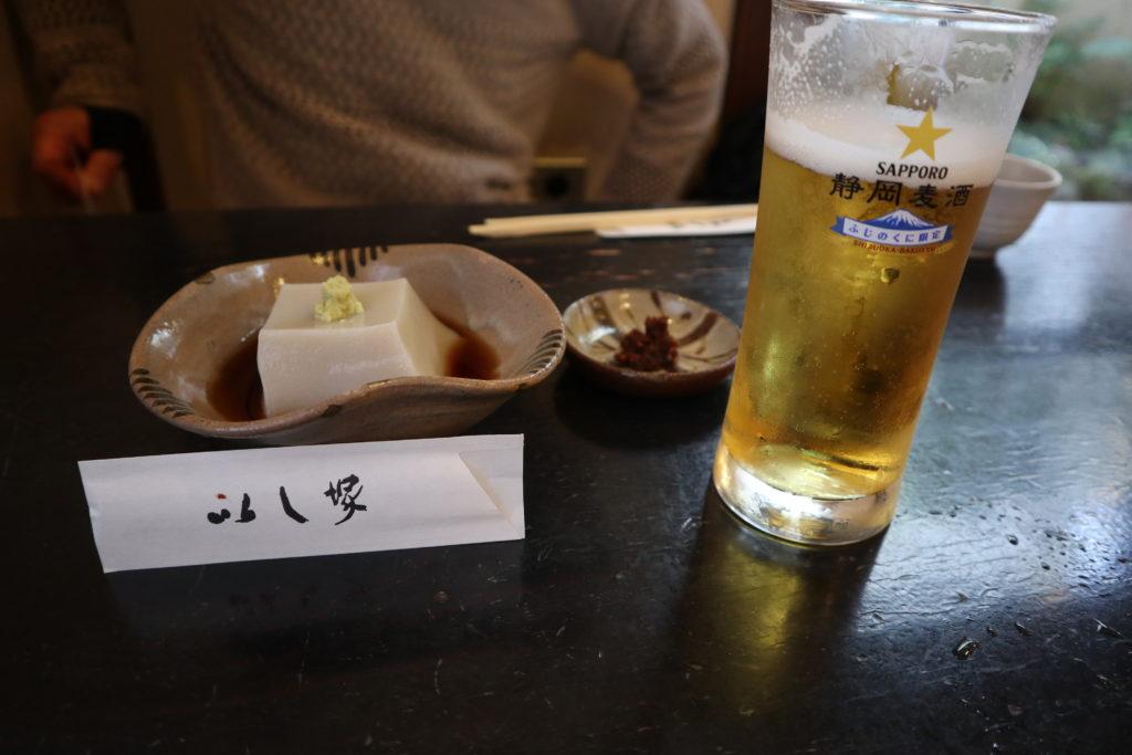 手打蕎麦下田いし塚蕎麦豆腐