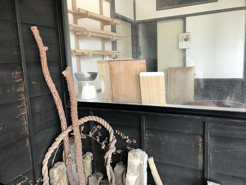 蕎麦打ち室