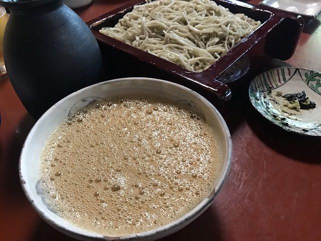 修善寺朴念仁自然薯蕎麦