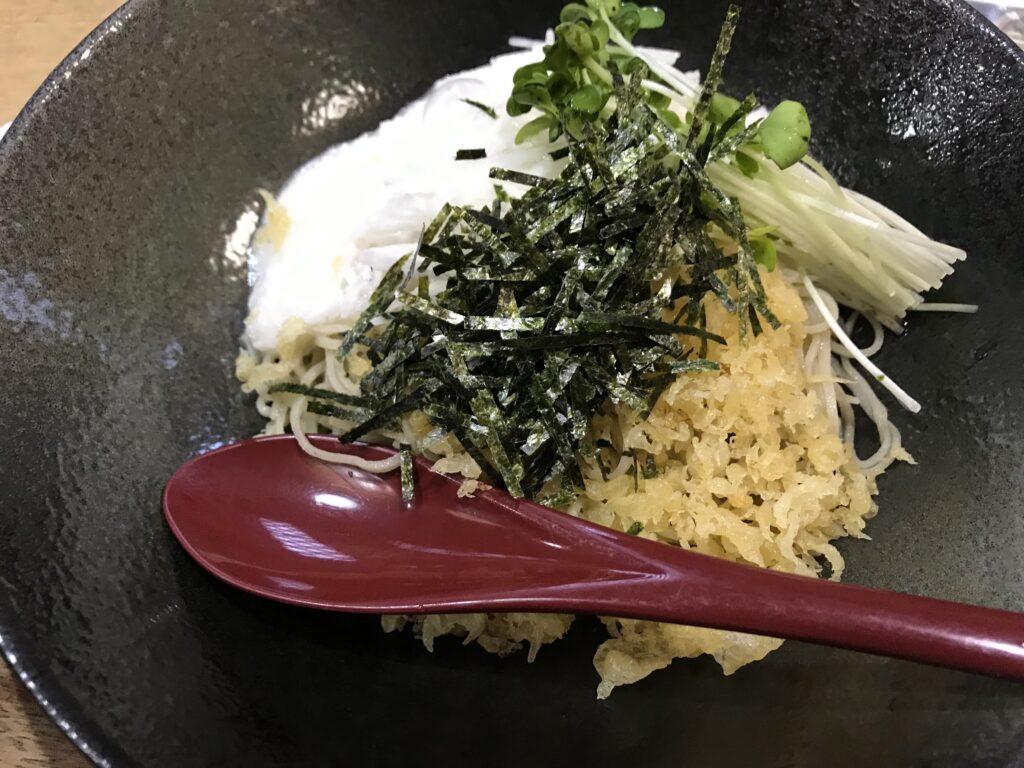 伊豆高原十割蕎麦処蕎仙メニューとろろそば2