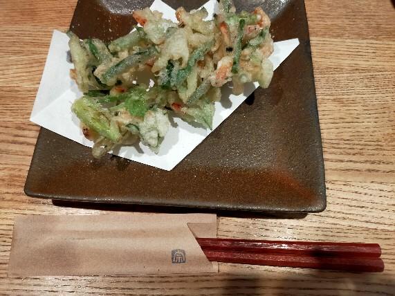 三島手打蕎麦宗かき揚げ